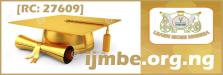IJMBE Logo